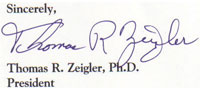 Tom Zeigler Signature